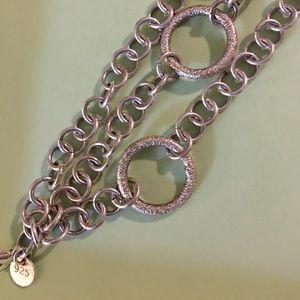 Jewelry - Chunky Sterling Silver 985 Bracelet